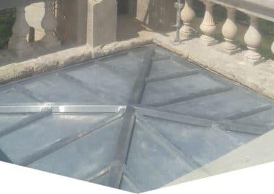 Couverture Zinc – Église de Puechabon 34