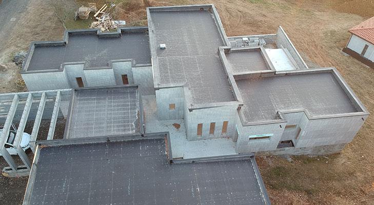 Membrane étanchéité toit plat