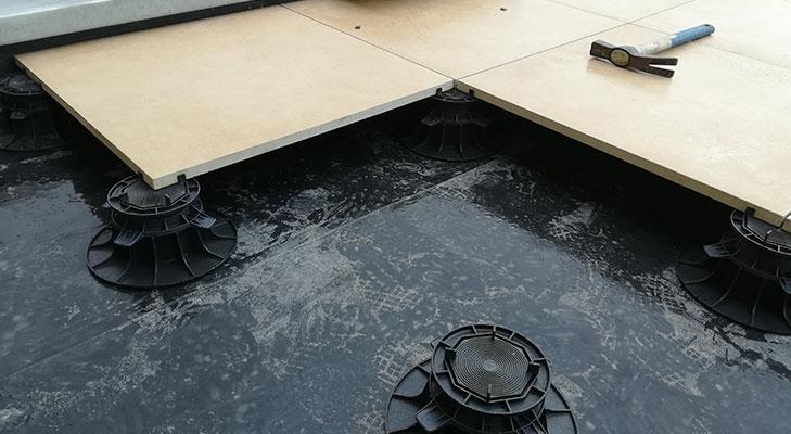 plots pour dalle toit terrasse